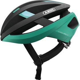 ABUS Viantor - Casque de vélo - noir/turquoise